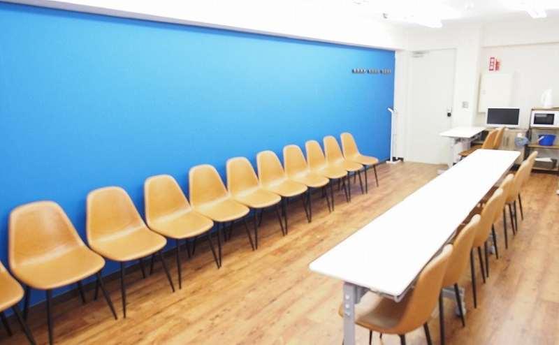 池袋 貸し会議室 レンタルスペース アズール 面接・オーディション会場向けレイアウト