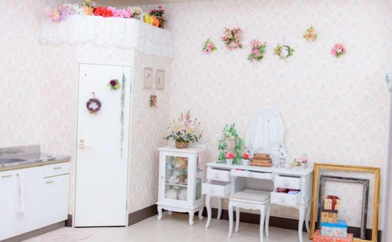 姫系スペース ドレッサー&手洗い場