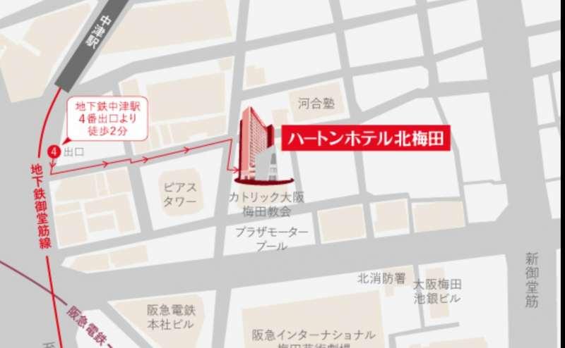 地下鉄御堂筋線中津駅から徒歩2分の好立地