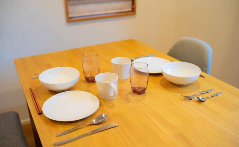 食器類もご自由にご利用いただけます。パーティーの他お料理教室や試飲会、試食会も