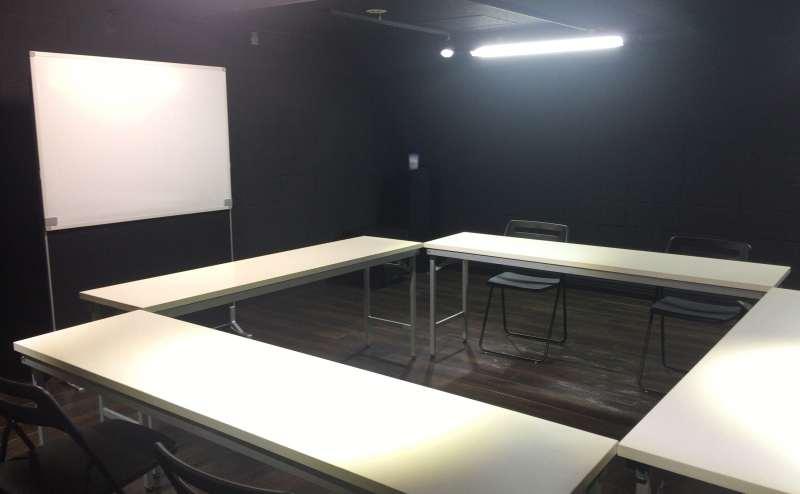 会議室利用時のイメージになります。