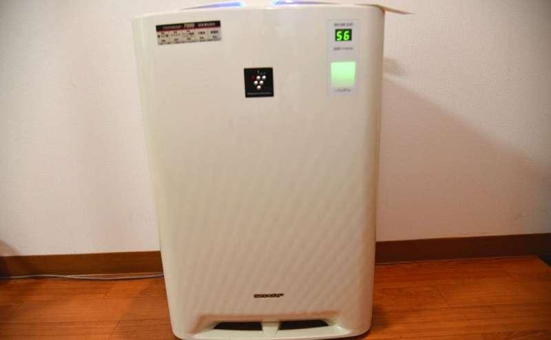 シャープ 加湿空気清浄機 KC-B40 ~18畳 空気清浄機 加湿器 ホワイト 高濃度プラズマクラスター スピード吸じん