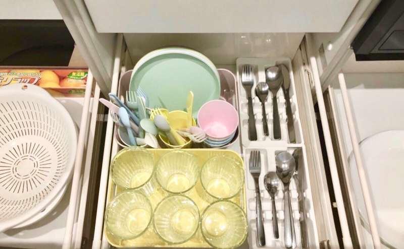 子供用食器類やグラス類(有料オプション)