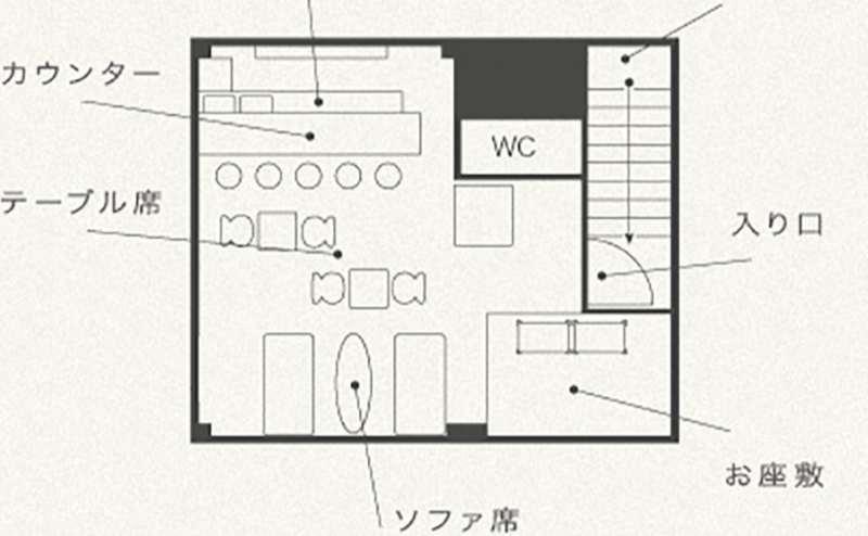店舗平面図