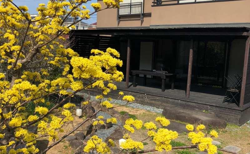 四季折々のお花が楽しめるプライベート庭園