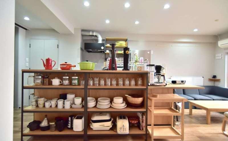 キッチン用品、多く揃えています。