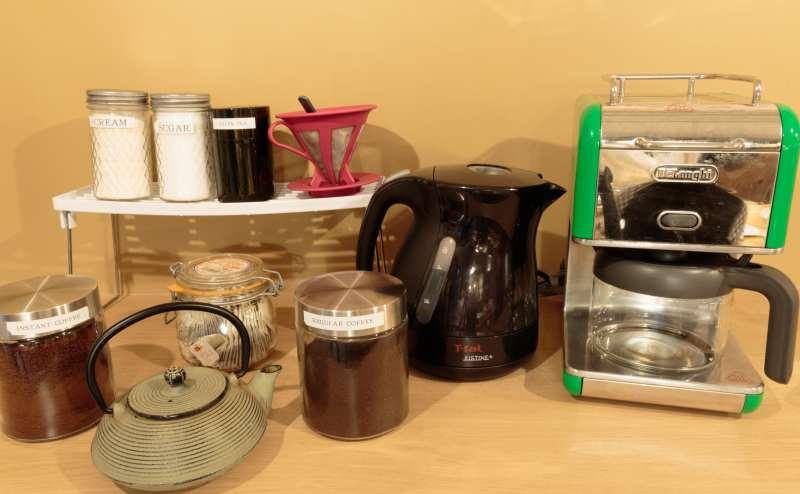 コーヒーは無料で飲めます(セルフ)