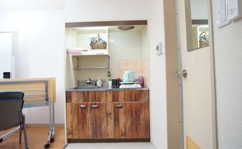 キッチンもおしゃれなデザインでご使用いただけます。