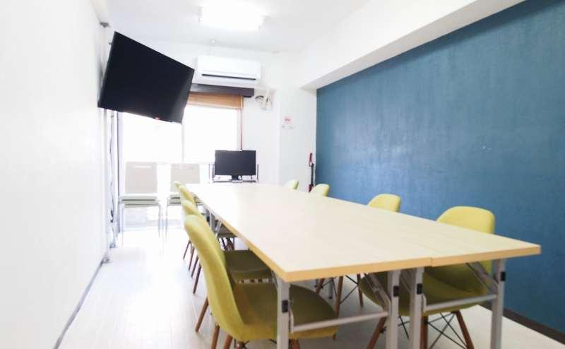 レンタルスペース 新宿【ラピス】最大8~14名収容 南口すぐの貸し会議室