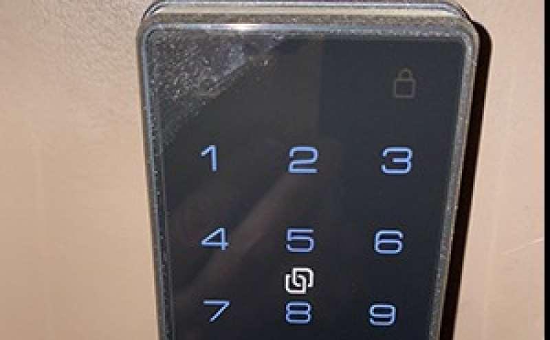 安心安全のスマートロックを採用。予約ごとに違う暗証番号が発番されます
