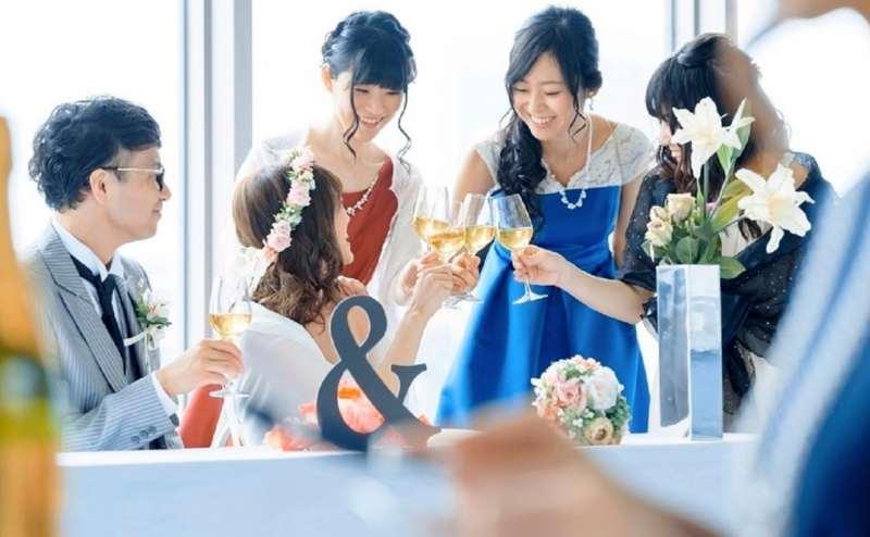 結婚式の二次会にも人気です。お早めのご予約をおすすめします