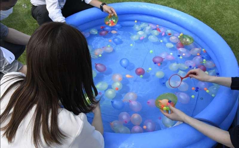 水道があるのでビニールプールなどのご利用も可能です