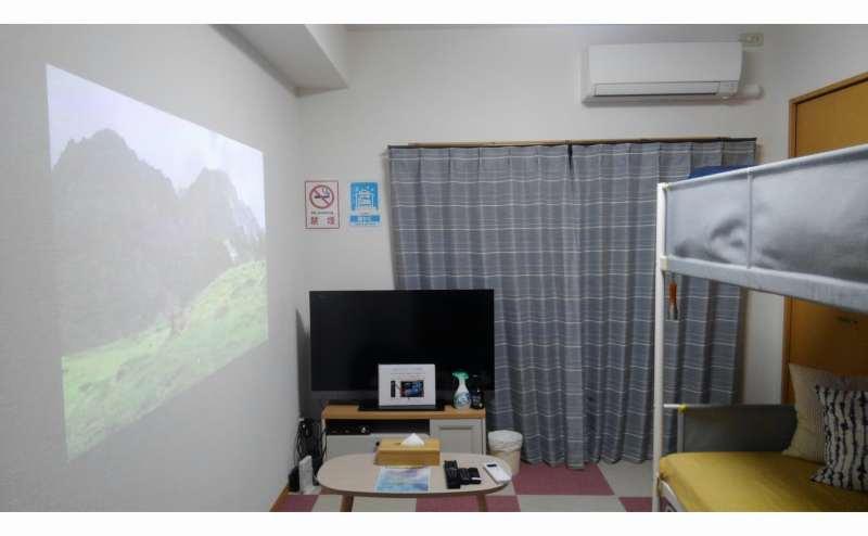 博多駅南バス停目の前!Wifi完備テレワークやNetflix映画鑑賞に最適!女子会や撮影も多目的に!