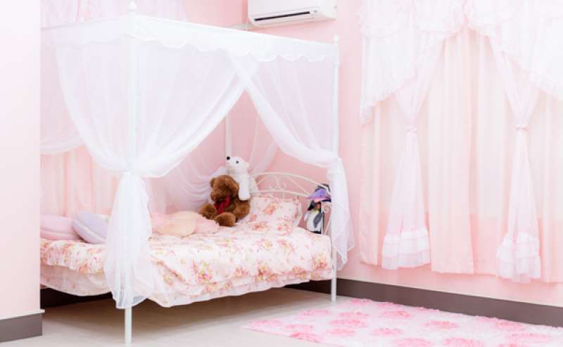 ベッドスペース 天蓋ベッド