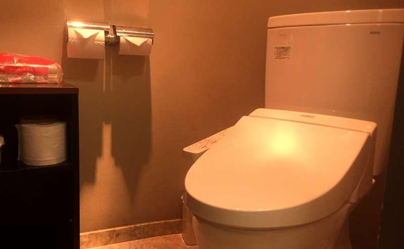 清潔なトイレ 男女別
