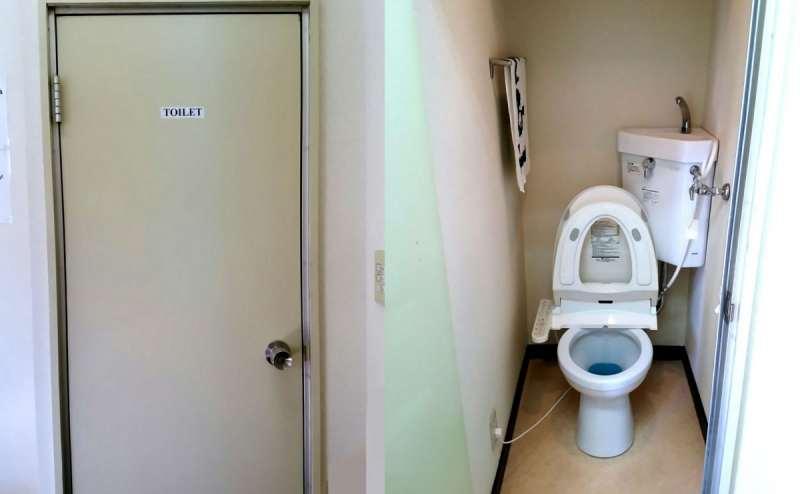 温水洗浄便座付トイレを完備