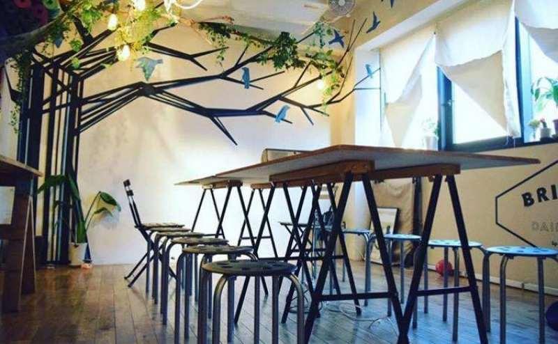 ミーティング利用(テーブル1台・ホワイトボード・椅子10脚)