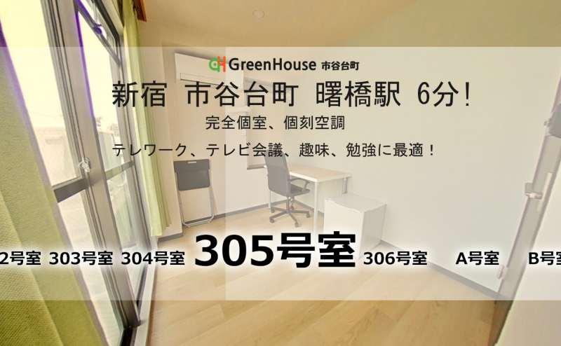 GreenHouse BIZ - 305 Room