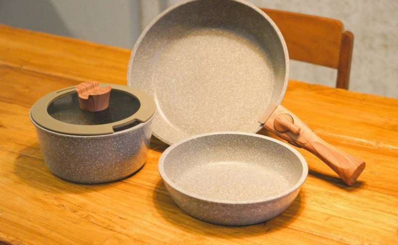 調理器具セット:鍋(19センチ)、フライパン(20センチ・27センチ)