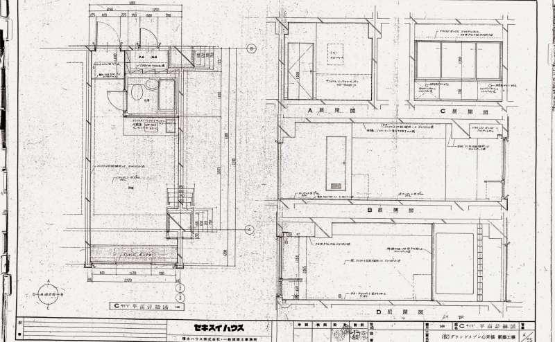 403号室の図面