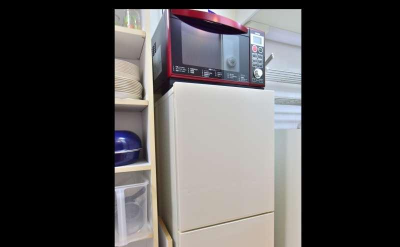 電子レンジ・冷蔵庫完備