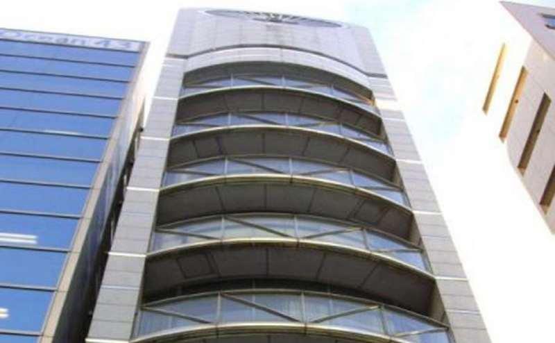 有名建築家が設計した『スズワン02ビル』おしゃれなビルです