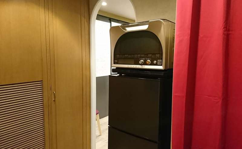 レンジと冷蔵庫