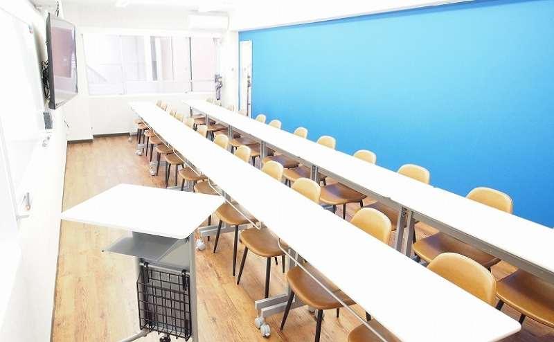 池袋 貸し会議室 レンタルスペース アズール 教室・セミナー向けレイアウト