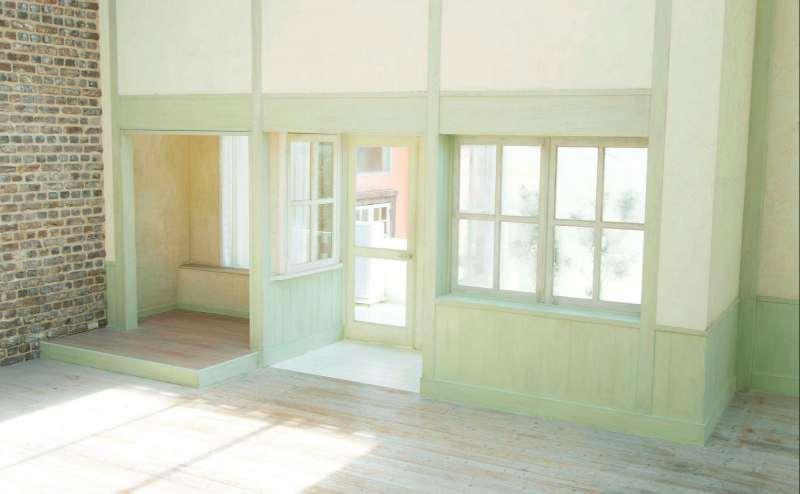 【A-Room】東、南、天井の窓からは自然光が差し込みとても明るいです