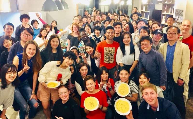 パンケーキパーティーも開催しました!