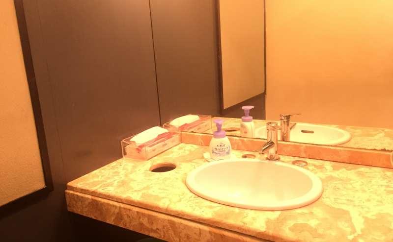 清潔で使いやすい洗面室 男女別
