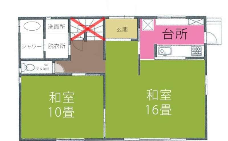 2階も、スタッフルーム以外はご利用可能です。