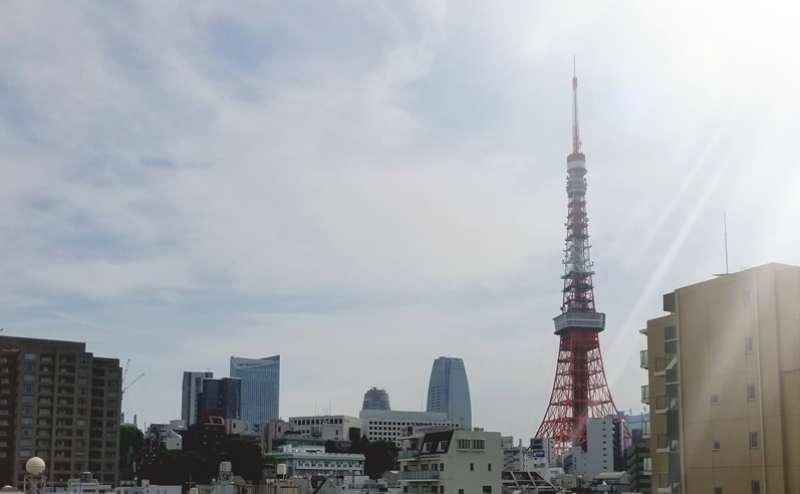 東京タワーや六本木ヒルズも見える眺望抜群