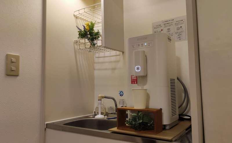 ミネラルを含んだ浄水ウォーターサーバーです