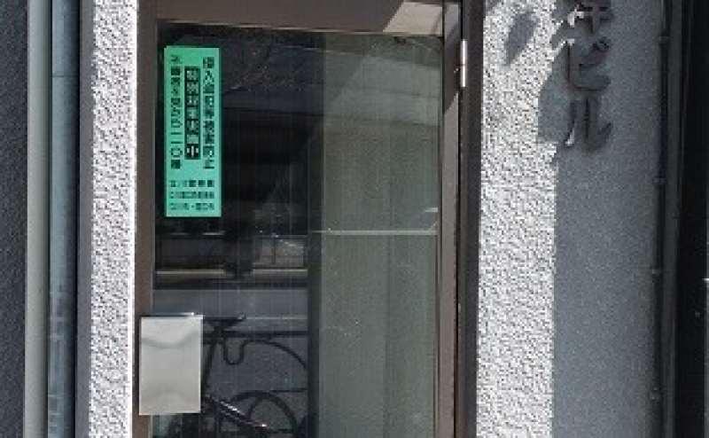 店舗ビル 入口ドア