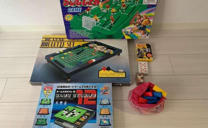 各種ボードゲームなども揃えています。