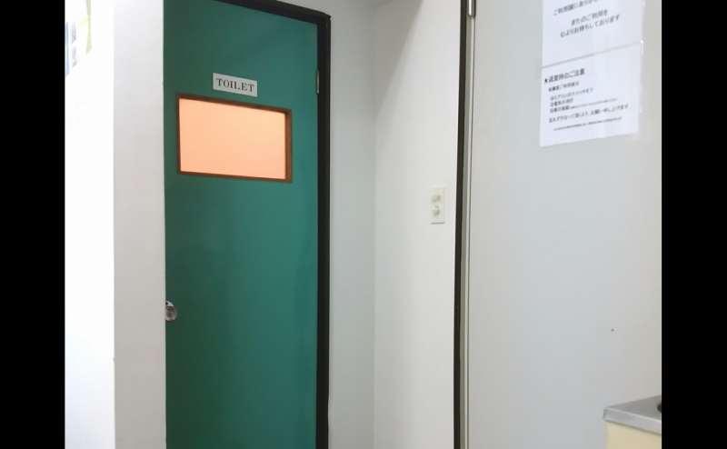 こちらがトイレです