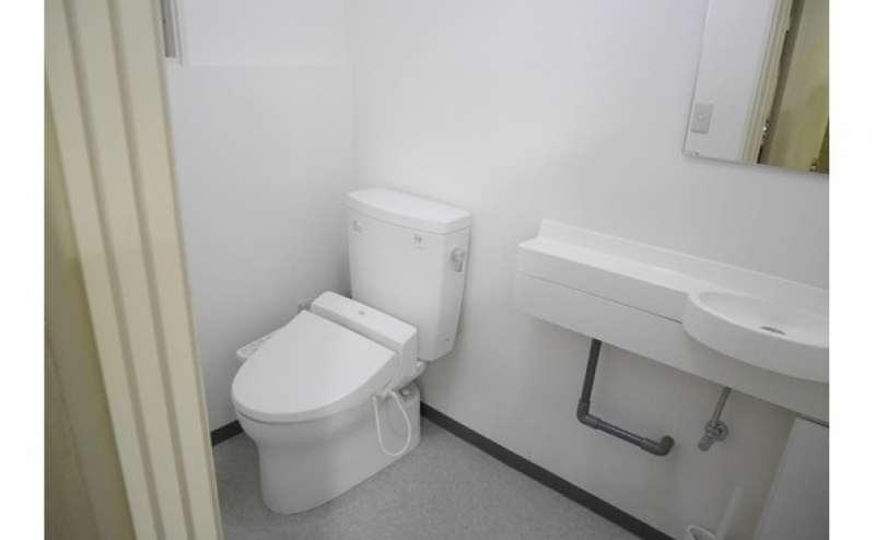 トイレも近く便利