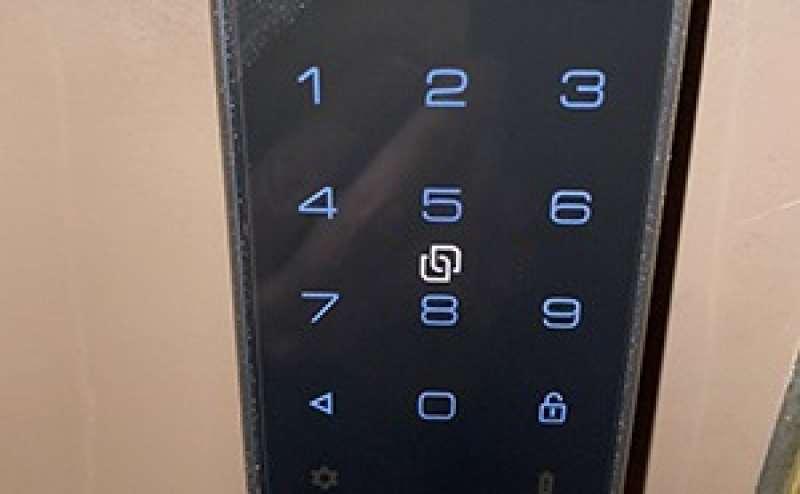 安全性の高いスマートロック。予約毎に暗証番号を発番します