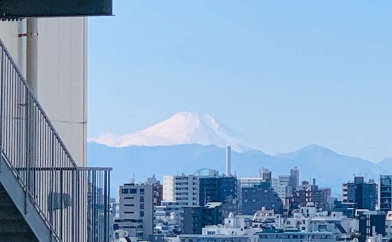 お天気がよければ富士山も見えます