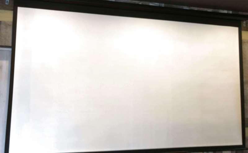 プロジェクタースクリーンです