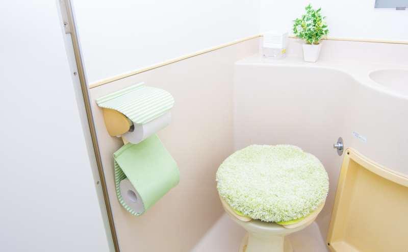清潔なトイレ!