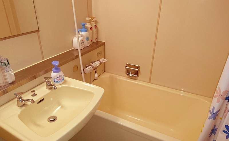 無料のシャワールームです