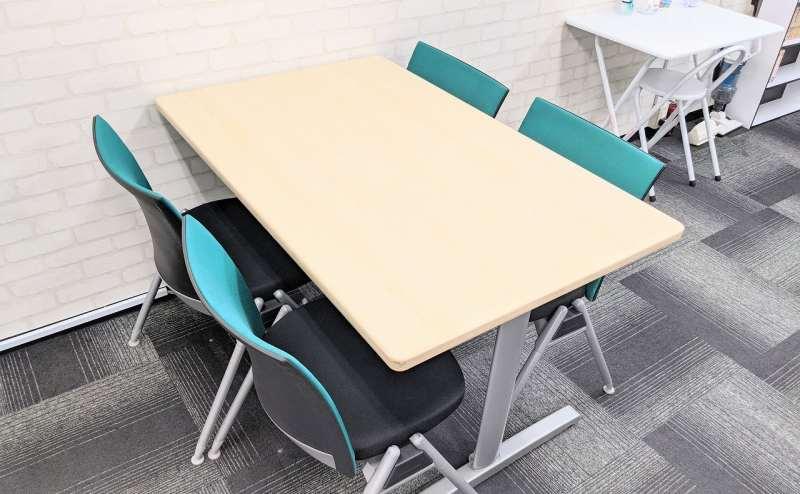 全部で7室のミーティングルーム/コワーキングスペース