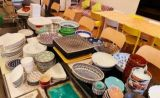和洋中のコース料理、カフェメニューにも対応できる食器類