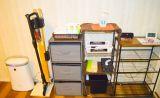 アルコール消毒、空気清浄機、掃除機、掃除に使えるきれいなタオルなど取り揃えています