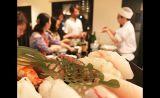 握り寿司ワークショップ。大勢の方にお越しいただきました