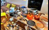 調理器具。常に清潔を心がけています
