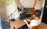 外付けディスプレイ付き!大きな画面のDualモニターとして使用することで作業効率もUp!