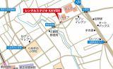 スタジオの地図です。小田急線 東林間 相模大野の他、町田からもアクセスしやすいです。